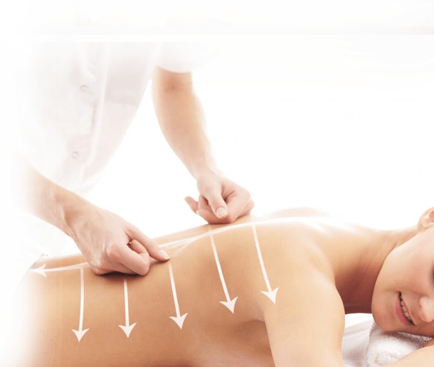 Массаж спины (3 отделов позвоночника)